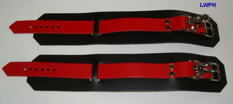 Fesseln-schwarz-rot