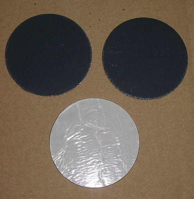Walzbleischeiben-7.4cm