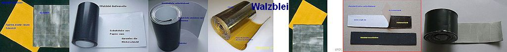 Walzblei - Folien von Lwph