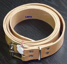 Ein hochwertige Lederriemen 5,0 cm breit x 3,5 mm stark exklusiver Natur-Leder-Gürtel div. Längen