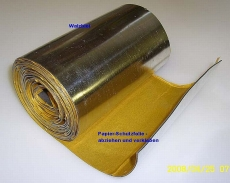 universelle Walzblei 100 cm x 100,0 cm x 1,0 mm stark Bleifolien einseitig selbstklebend mit Schutzfolie