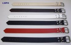 Lederriemen Gürtel Fixierungsriemen 3,5 cm breit x 60,0 cm lang in verschiedenen Farben für universellen Einsatz