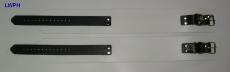 Paar Oberschenkelfesseln Fesselvariationen in verschiedenen Ausführungen Echt Leder 6,5 cm mit D-Ring und Wirbelkarabiner