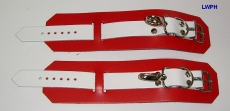 Edelstahl-Spreizstange mit Handfessel und Fußfesseln in verschiedenen Farben von LWPH