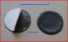 Runde Walzblei Blei-Scheiben 3,0 cm x 1,0 mm stark selbstklebende Bleifolie 8,0 Gramm