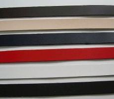 schmale Lederstreifen 1,0,0 x 18,0 cm in vielen Farben zum Leder-Basteln für Lederschlaufen von LWPH