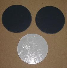 Runde Walzblei Blei-Scheiben 7,4 cm x 1,0 mm stark selbstklebende Bleifolie 50,0 Gramm