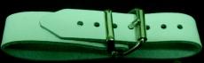 PVC-Riemen mit doppelter Metallschlaufe 2,0 cm x 24,0 cm für Kinderwagen, Halteriemen und vieles mehr