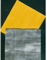 universelle Walzblei - Bleistreifen einseitig selbstklebend mit Schutzfolie 100 cm x 1,5 cm x 1,0 mm stark