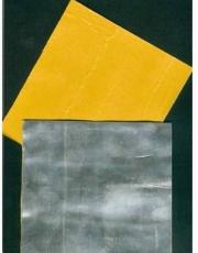 universelle Walzblei - Bleistreifen einseitig selbstklebend mit Schutzfolie 100 cm x 4,0 cm x 1,0 mm stark