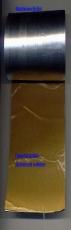 universelle Walzblei - Bleistreifen einseitig selbstklebend mit Schutzfolie 100 cm x 10,0 cm x 1,0 mm stark