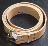 Ein hochwertige Lederriemen 4,0 cm breit x 3,5 mm stark exklusiver Natur-Leder-Gürtel div. Längen