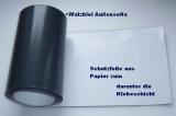 universelle Walzbleitapete 100,0 cm x 200,0 cm x 1,0 mm stark Bleifolien einseitig selbstklebend mit Schutzfolie