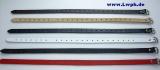 Lederriemen Befestigungsriemen, Fixierungsriemen 2,0 cm breit x 70,0 cm lang Halteriemen Schnallenriemen