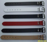 Lederriemen Befestigungs und Fixierungsriemen 3,0 cm breit x 30,0 cm lang in diversen Farben