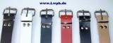 Lederriemen Gürtel Fixierungsriemen 3,5 cm breit x 40,0 cm lang in verschiedenen Farben für universellen Einsatz