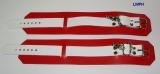 1 Paar Fussfesseln Fesselvariationen in verschiedenen Ausführungen Echt Leder 26,5 x 6,5 cm mit Wirbelkarabiner