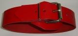 BDSM Bondageriemen, Lederriemen Fessel-Riemen mit Klemmschutz und zweidrittel-Lochung 4,0 cm breit bis 140,0 cm lang