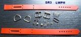 Leder-Handfesseln aus Lederteilen und Zubehör selbst Basteln mit unseren LWPH-Bastel-Set-Creationen für 1 Paar