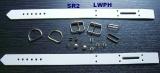 Leder-Fussfesseln aus Lederteilen und Zubehör selbst Basteln mit unseren LWPH-Bastel-Set-Creationen für 1 Paar