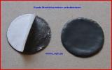 Runde Walzblei Blei-Scheiben 4,0 cm x 1,0 mm stark selbstklebende Bleifolie 15,0 Gramm