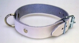 Lederriemen mit verschweißten D-Ring 2,0 cm x 40,0 cm ein Fesselriemen von LWPH in vielen Farben