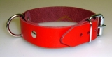 Lederriemen mit verschweißten D-Ring 2,0 cm x 45,0 cm ein Fesselriemen von LWPH in vielen Farben