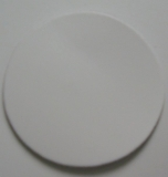 Lederteile rund, Durchmesser 9,0 cm, 16,0 cm u. 20,0 cm Leder-Conchos, Untersetzer, Bastelteile, Schmuckstücke, Werbemittel in 6 Farben