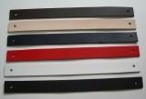 Qualitäts Lederriemen, Lederstreifen 2,5 x 30,0 cm mit 2 Löchern in vielen Farben von Lwph