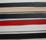 schmale Lederstreifen 1,0,0 x 14,0 cm in vielen Farben zum Leder-Basteln für Lederschlaufen von LWPH