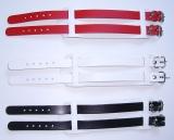 Lederarmbänder in 10 Ausführungen modische Qualität aus Echtem Leder mit 2 Schnallen von LWPH
