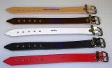 Lederriemen 1,1 cm breit x 18,0 cm lang für universellen Einsatz, Befestigungsriemen, Schnallenriemen