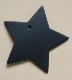 Ledersterne ca. 8,0 x 7,5 cm in 6 Farben Herz zeigen für viele Verwendungsmöglichkeiten