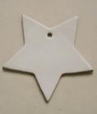 10 Ledersterne ca. 8,0 x 7,5 cm in 6 Farben Herz zeigen für viele Verwendungsmöglichkeiten