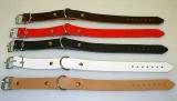 Lederriemen mit D-Ring Befestigungs und Fixierungsriemen 1,5 cm breit in div. Längen und Farben