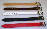 Lederriemen 1,1 cm breit x 60,0 cm Schnallenriemen, Halteriemen für universellen Einsatz